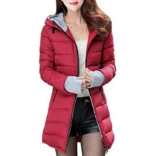 Women's Long Puffer jacket (Size M)