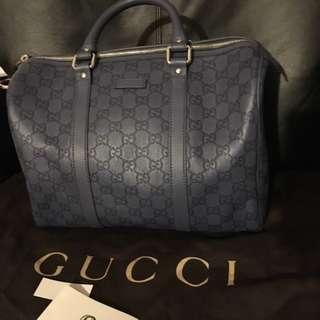 Sac Gucci navy blue