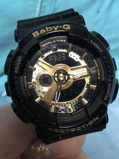 Baby G Black Gold