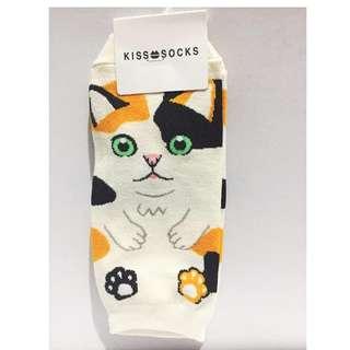 10 pcs. - Kiss Socks Made in Korea - Characters #0011