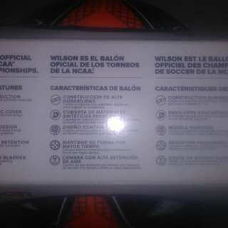 Wilson HEX Stinger SOCCER BALL (size 5) original from USA