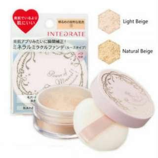 資生堂Integrate 礦物質粉底型蜜粉 2號自然膚色 #彩妝五折