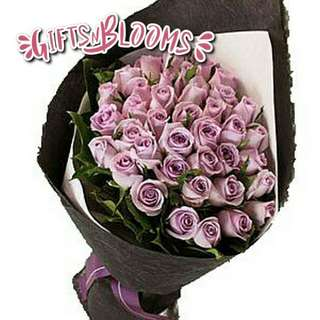 Fresh Flower Bouquet Anniversary Birthday Flower Gifts Graduation Roses Sunfowers Baby Breath -  10614