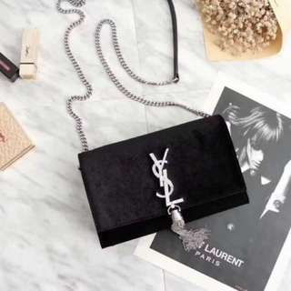ORIGINAL YSL Velvet Shoulder bag ORDER ONLY