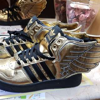 adidas js wings 2.0 天使之翼二代金色賠售