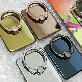 iRing / Ring Stand Bahan Besi Chrome