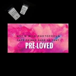 PRELOVE Wet n Wild Photofocus Face Primer Base De Tent