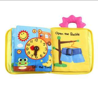 Baby Cloth Book Activity Book Soft Book Quiet Book