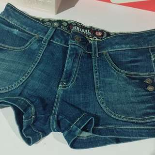 [PRELOVED] TRIBAL Denim Shorts Size 30