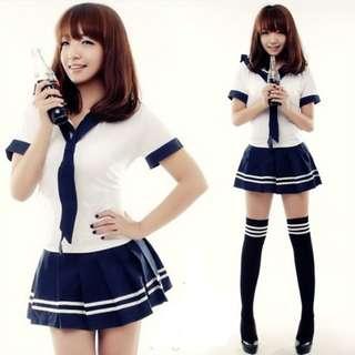 學生服日式學生裝韓裝清純可愛角色扮演校服送學生襪