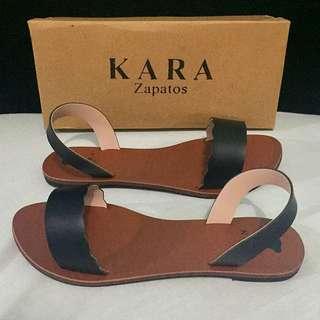 Kara Zapatos Scalloped Sandals