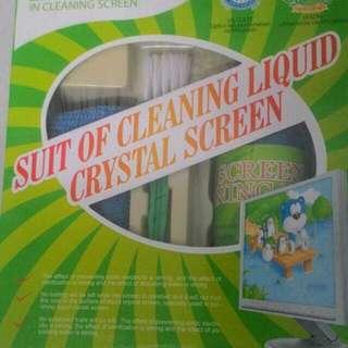 Screen cleaner set