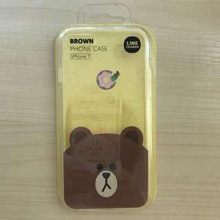 Line 熊大 iPhone 7 電話殼