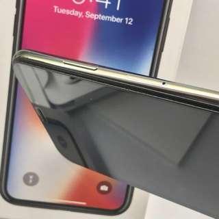 自售保固內9成新 IPhone X 灰 64g