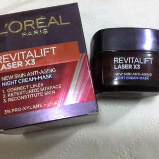 Loreal Paris Revitalift Laser X3 Night Cream
