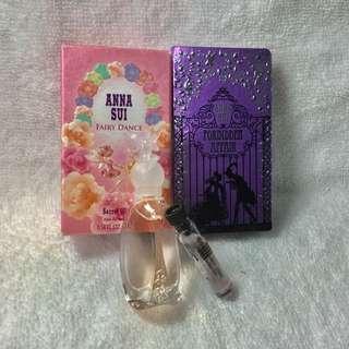 ANNA SUI 漫舞精靈小香水+紫境魔鑰試管香水