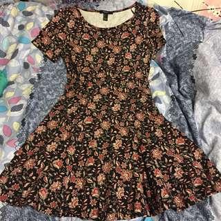 floral f21 dress