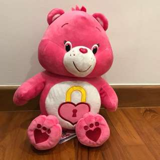 BNWT medium size care bear plush - Secret