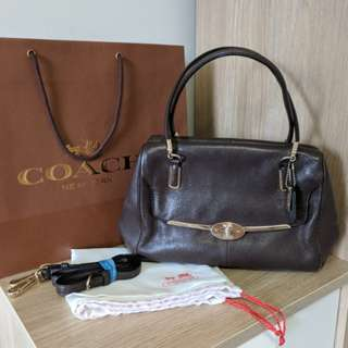 Coach Madeline East/West Satchel