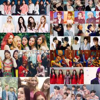 KPOP MERCHANDIES MURAH BTS,EXO,TWICE,BLACKPINK,WANNAONE,MONSTAX,GOT7,RED VELVET,NCT and etc