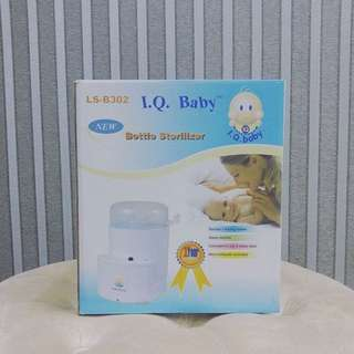 IQ Baby Bottle Sterilizer Mini Compact 3 Botol Susu New