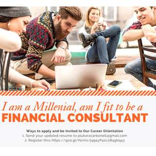 I am a Millenial, am i Fit to be a Financial Consultant