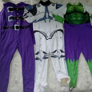 Take all costume,  same sizes 4-6 yrs old