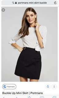 Portmans skirt size 6
