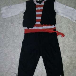 Pirate 3-5 yrs old