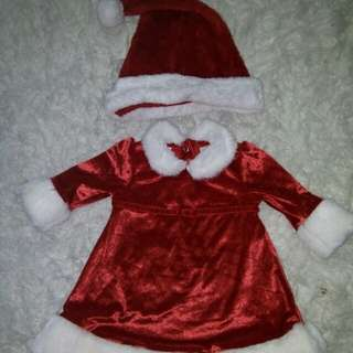 Christmas costume 6 months