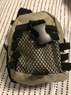 Mini travel pouch (can be attached to waist belt)