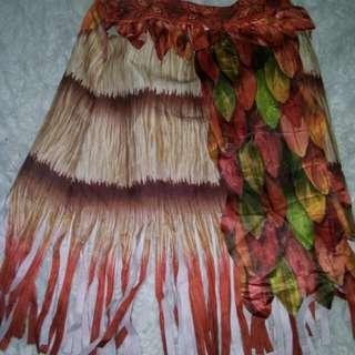 Moana skirt 4-6 yrs old