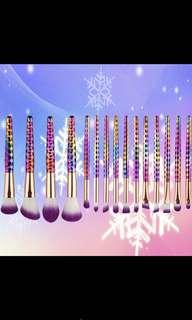 Preorder! 15 pcs honeycomb makeup brushes