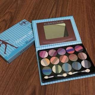 US Brand Klean Color Eye Shadow Pallette