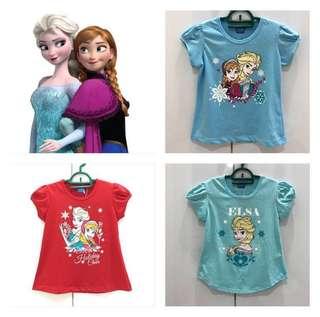 3 Pcs Disney FROZEN T-Shirt
