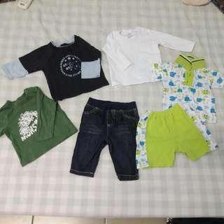 Boy set 3-6 month