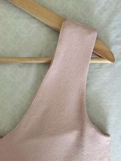Pastel Pink Sleeveless Dress