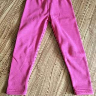 粉紅120長厚褲