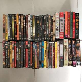 📀 Preloved DVDs, VCDs English & Chinese Movies/Serials