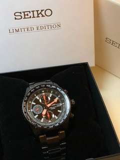 Seiko Criteria Chronograph World Time-Limited Edition