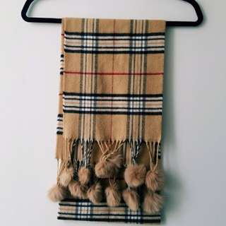 Not Burberry Scarf