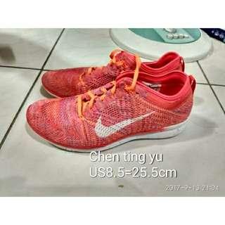 🚚 ※正品※試穿樣品鞋 nike free run 3.0 4.0 5.0 女鞋us8.5=25.5cm