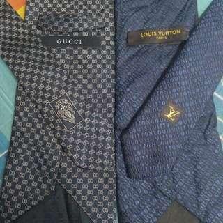 Tie GUCCI & LV (COMBO SALE)