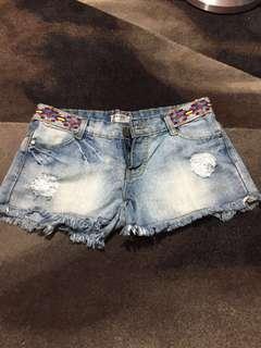 Denim/Jeans ripped hotpants
