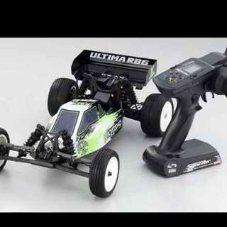 Kyosho Ultima Rb6 Ready to Run Electric Offroad Rc Buggy
