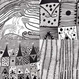 Yayoi Kusama Collage Print