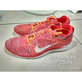 🚚 ※正品※試穿樣品鞋 nike free run 3.0 4.0 5.0 女鞋us8=25cm