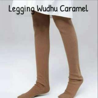 Legging wudhu caramel