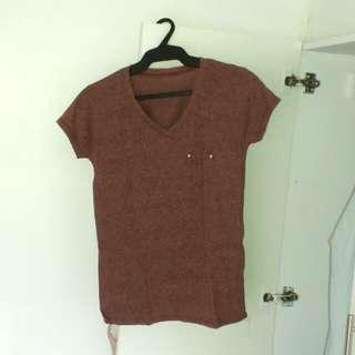 Page Jeans V-neck Shirt