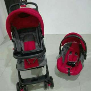 2 in 1 stroller and car seat (2 items)